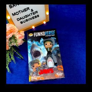Funkoverse Jaws 100 Strategy Board Game. Exclusive